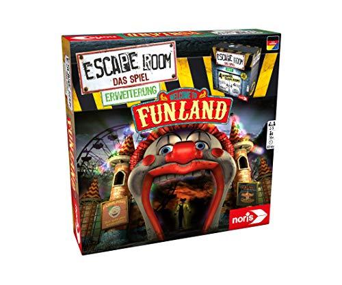 noris 606101618 - Escape Room Erweiterung Welcome to Funland - Nur mit dem Chrono Decoder spielbar - ab...