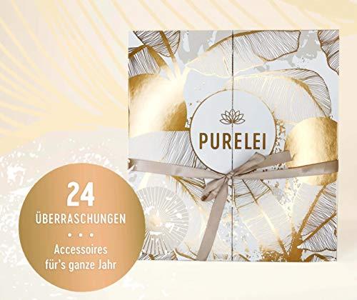 Purelei Frauen Adventskalender 2020, Schmuck Adventkalender Frau, Wert 700 €, Armband Kette...