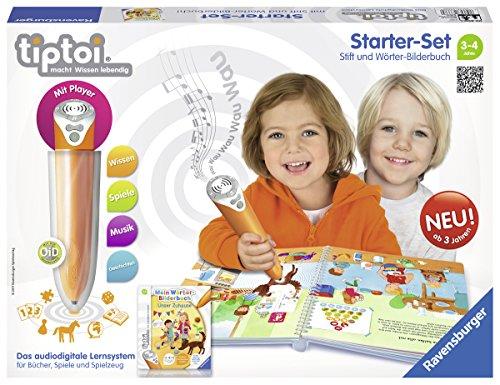 Ravensburger 00800 Tiptoi StarterSet WörterBilderbuch: Unser Zuhause