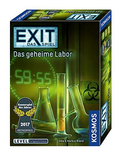 KOSMOS 692742 - EXIT - Das Spiel - Das geheime Labor, Kennerspiel des Jahres 2017, Level:...