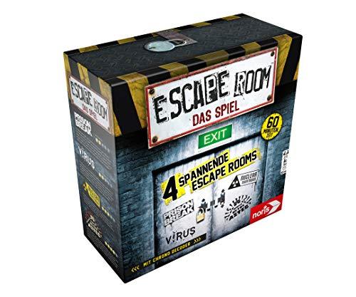 Noris Escape Room (Grundspiel) - Familien und Gesellschaftsspiel für Erwachsene, inkl. 4 Fällen und...