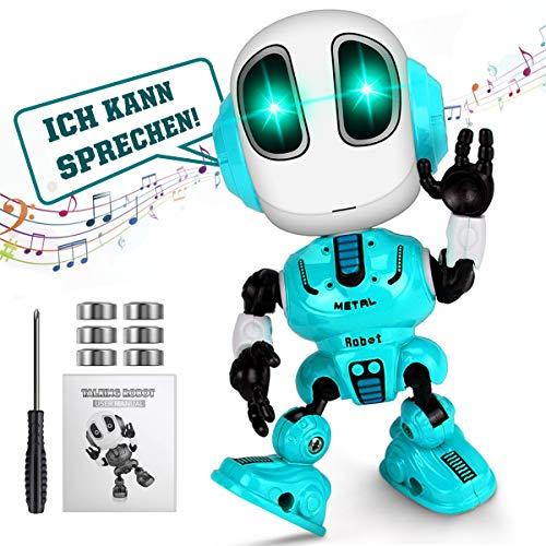 WEARXI Kinder Spielzeug Jungen - Spielzeug ab 3 Jahre, Roboter KinderSpielzeug Jungen, Intelligenter...