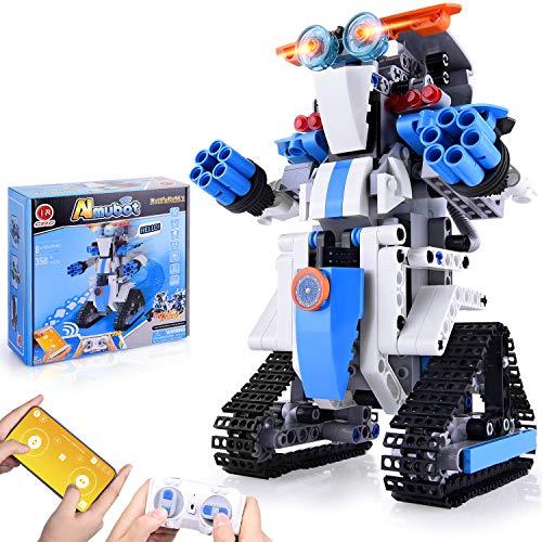 CIRO Roboter Kinder Spielzeug Bausatz Programmierbarer and Ferngesteuerter Steuerung per APP und...