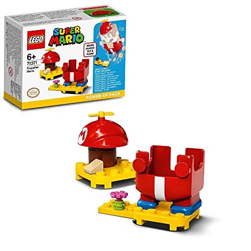 LEGO 71371 Super Mario Propeller-Mario - Anzug, Power-Up Pack Erweiterungsset, Fly & Flow Kostüm