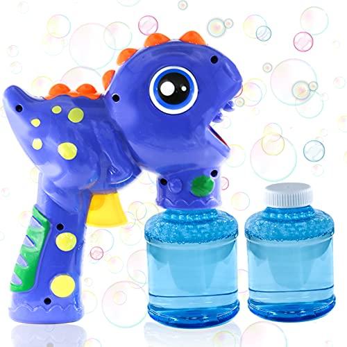 Seifenblasenpistole, Seifenblasenmaschine für Kinder, Seifenblasen Maschinen, Seifenblasenpistole mit 2...