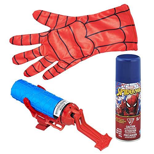Hasbro Spider-Man B9764EM0 - Mega Blast Web Shooter, mit Handschuh, inklusive Sprühflüssigkeit