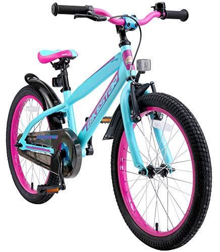 BIKESTAR Kinderfahrrad 20 Zoll für Mädchen und Jungen ab 6 Jahre | 20er Kinderrad Mountainbike |...