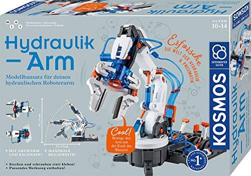 Kosmos 620578 Hydraulik-Arm, Modellbausatz für deinen hydraulischen Roboterarm, Experimentierkasten zu...