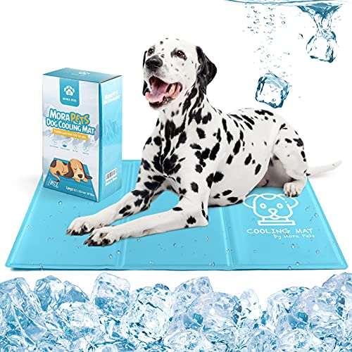 Kühlmatte für Hund und Katze Hundematte Kühl Hundekühlmatte Kühldecke Selbstkühlend Hundedecke...