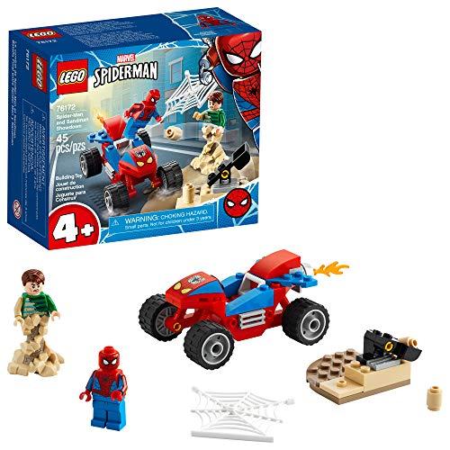 LEGO Marvel Spider-Man: Spider-Man and Sandman Showdown 76172 Collectible Construction Toy, New 2021 (45...