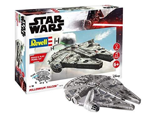 Revell Build & Play 6778 Millennium Falcon, bewegliche Teile, Light&Sound, 1:164, 20,9 cm Disney Star...