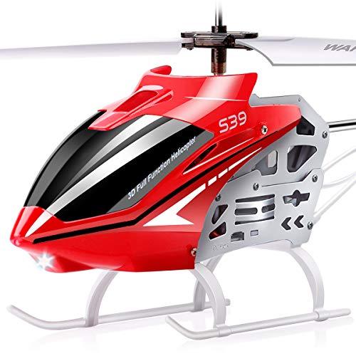SYMA Ferngesteuerter RC Helikopter Outdoor Groß S39 Hubschrauber 3.5 Kanal 2.4 Ghz LED Leucht und...