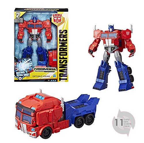 Transformers Cyberverse Action Attackers Ultimate Optimus Prime, Actionfigur