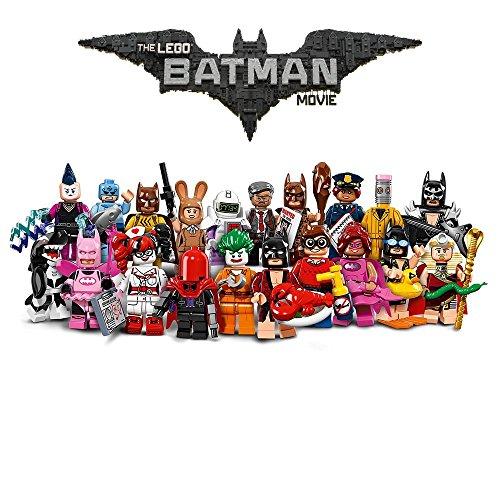 KOMPLETT SET 20 Mini FIGUREN Lego BATMAN MOVIE 71017 Figures Mini
