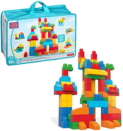 Mattel Mega Bloks First Builders CNM43 - Bausteinebeutel, Deluxe 150 Teile, bunt