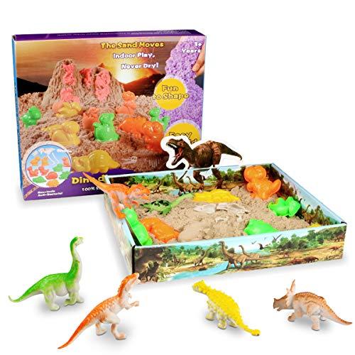 Weeygo Magic Sand Playset, 3D Sand-Box Super Sand - Knetsand Magischer Natürlichen Spielsand mit...