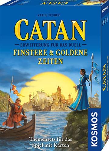 CATAN – Erweiterung für Das Duell – Finstere & Goldene Zeiten, Themensets für das Spiel mit Karten,...