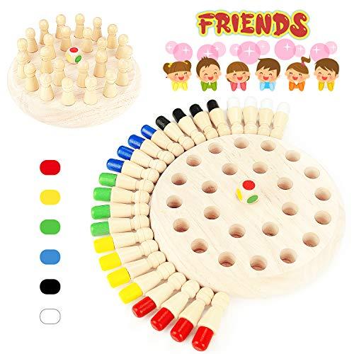 WEARXI Memory Spiel Spielzeug ab 1 2 3 Jahren für Draußen Kinder, Outdoor Spiele Spielzeug Kleine...