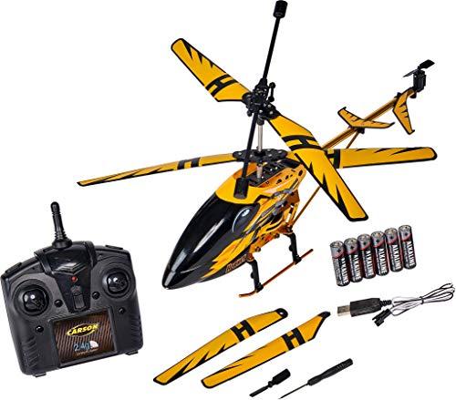 Carson 500507139 Easy Tyrann Hornet 350 2.4GHz RTF, Ferngesteuerter Hubschrauber, Modell, RC Helikopter,...