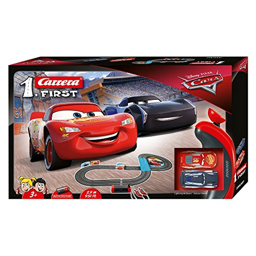 Carrera FIRST Disney Pixar Cars 2,9 Meter 20063021 Autorennbahn ab 3 Jahren