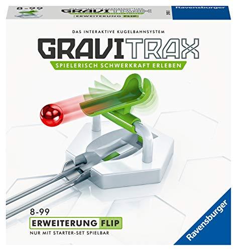 Ravensburger GraviTrax Erweiterung Flip - Ideales Zubehör für spektakuläre Kugelbahnen,...