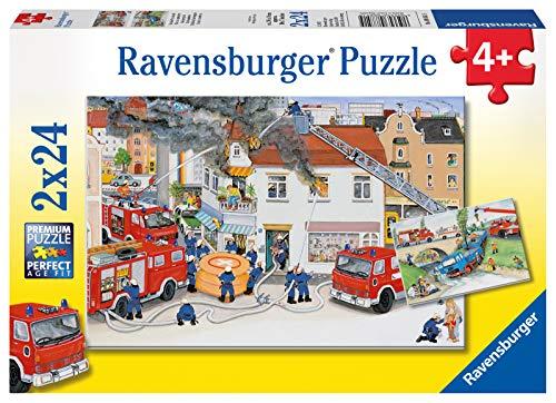 Ravensburger Kinderpuzzle: Bei der Feuerwehr
