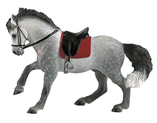 Bullyland 62659 - Spielfigur, Andalusier Wallach, ca. 15,8 cm groß, liebevoll handbemalte Figur,...