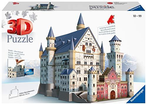 Ravensburger 3D Puzzle 12573 - Schloss Neuschwanstein - 216 Teile