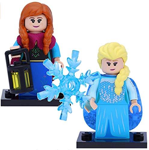 LEGO 71024 Disney Serie 2 Minifiguren: #9 ELSA und #10 Anna (Frozen)