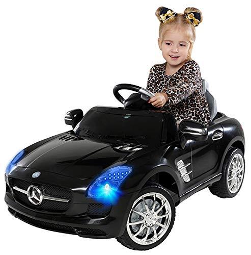 Actionbikes Motors Kinder Elektroauto Mercedes Benz AMG SLS - Lizenziert - Rc 2,4 Ghz Fernbedienung - Led...