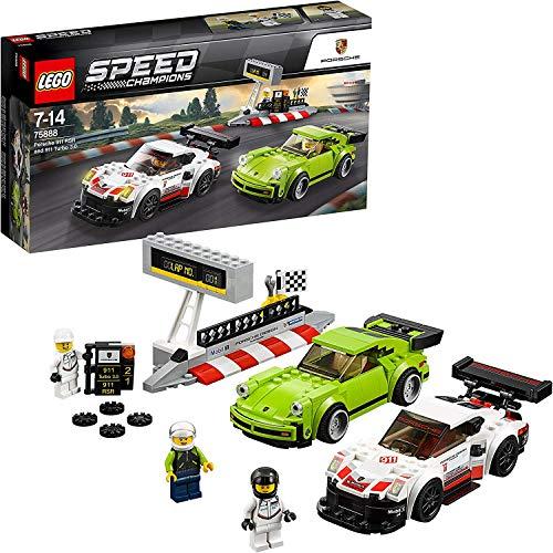 LEGO Speed Champions Porsche 911 RSR und 911 Turbo 3.0 75888 Konstruktionsspielzeug
