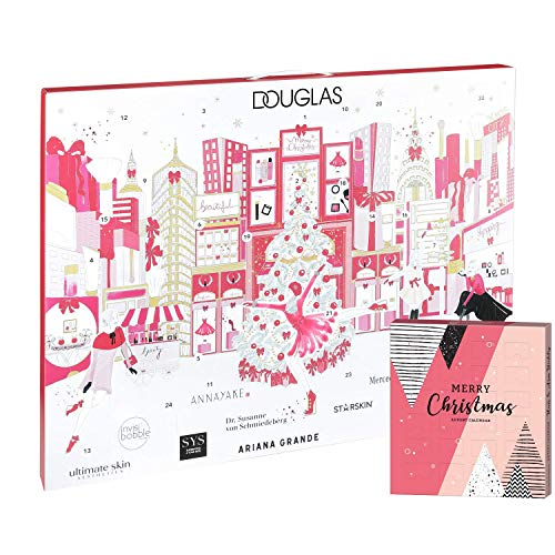 Douglas Beauty Adventskalender New York 2019 Beautykalender im Wert von 200€ mit Haar- & Armband...