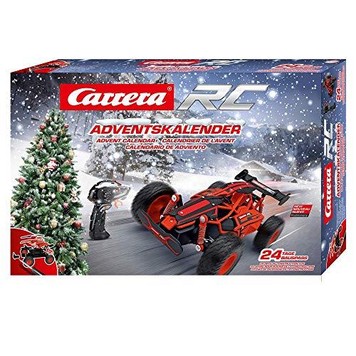 Carrera RC Adventskalender 2,4 GHz Buggy, Rot │Ferngesteuertes Auto aus 24 Bauteilen bauen...