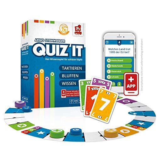 Rudy Games Quiz it - Interaktives Quiz-Spiel mit App – Fragen aus unterschiedlichsten Themenbereichen...