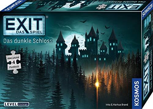 KOSMOS 680787 EXIT Das Spiel + Puzzle - Das dunkle Schloss, Level: Einsteiger, Escape Room Spiel mit...