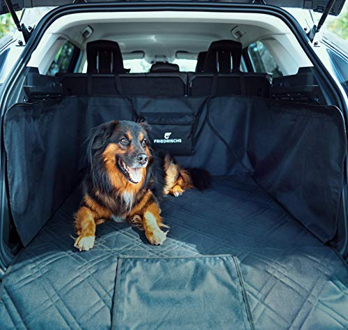 FRIEDRISCHS Kofferraumschutz Hund - Wasserabweisend & Reißfest - Hochwertiger Hunde Kofferraumschutz mit...