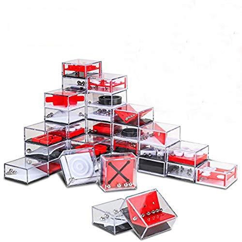 INTVN 24 Stück Geduldsspiele, Mini Denkspiel Knobelspiel für Kinder Geduld Spiel Mitgebsel...