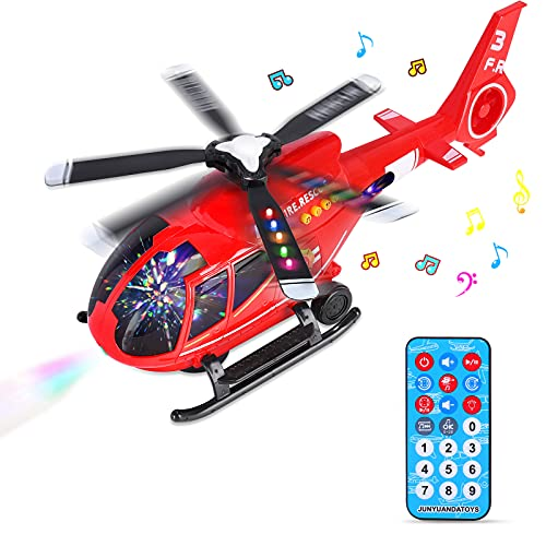 Hubschrauber Spielzeug mit Fernbedienung, Flugzeugspielzeug, Flugzeug Spielset, Flieger Kinder mit...
