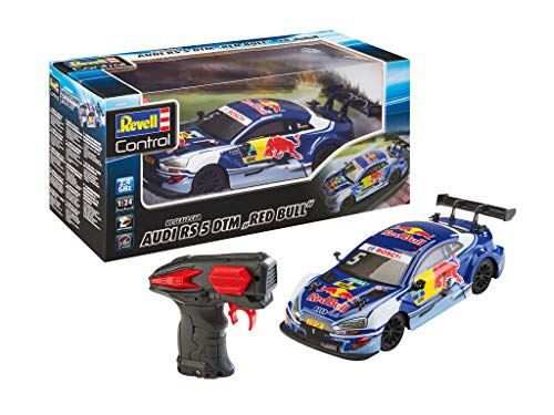 Revell Control 24686 RC Scale Car 1:24 DTM Audi Red Bull, GHz-Fernsteuerung, originalgetreue Karosserie...