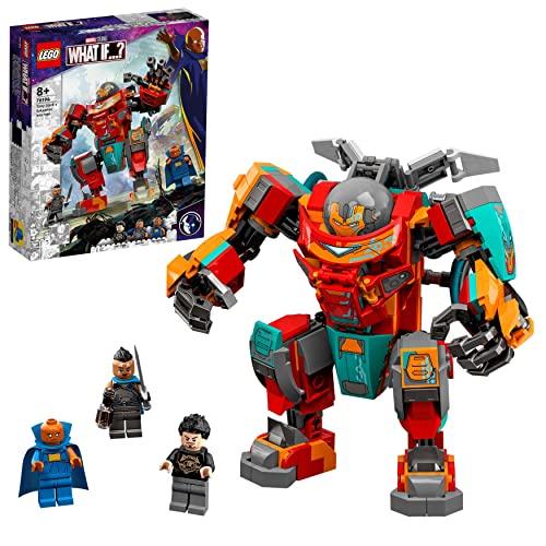 LEGO 76194 Marvel Tony Starks sakaarianischer Iron Man, Action-Figur mit Transformer-Spielzeugauto für...