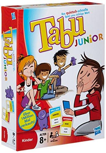 Hasbro 14334100 Tabu Junior, kindergerechtes Erklärspiel, ab 8 Jahren