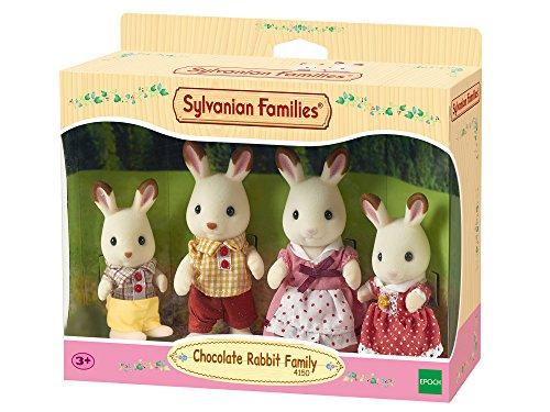 Sylvanian Families 4150 Schokoladenhasen Familie - Figuren für Puppenhaus