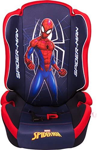 Marvel Spiderman ORIO Spiderman Autositz Gruppe 2-3 (von 15 bis 36 kg)