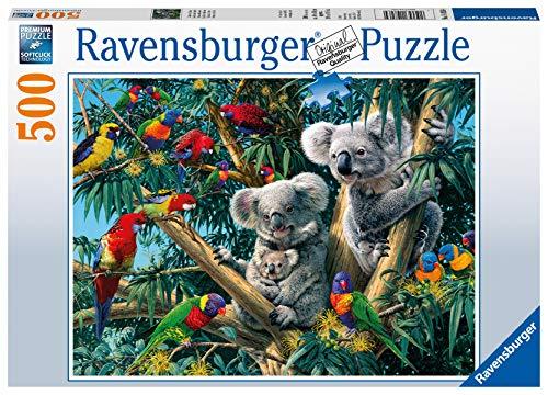 Ravensburger Puzzle 14826 - Koalas im Baum - 500 Teile Puzzle für Erwachsene und Kinder ab 10 Jahren,...