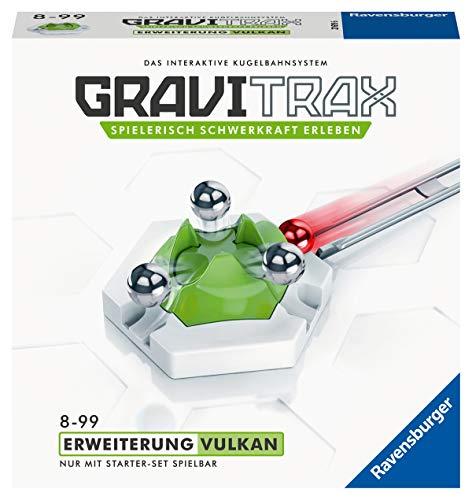 Ravensburger GraviTrax Erweiterung Vulkan - Ideales Zubehör für spektakuläre Kugelbahnen,...