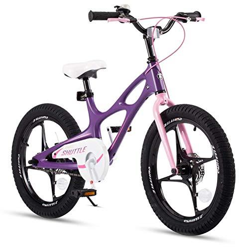 RoyalBaby Kinderfahrrad Jungen Mädchen Space Shuttle Magnesium Fahrrad Stützräder Laufrad Kinder...