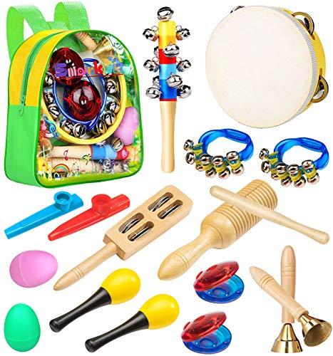 Smarkids Musikinstrumente für kinder, Spielzeug von Holz Schlaginstrument Kinder Musikalisches...