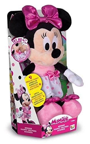 Minnie Mouse 182431MI4 Happy Helpers Sound Plüsch