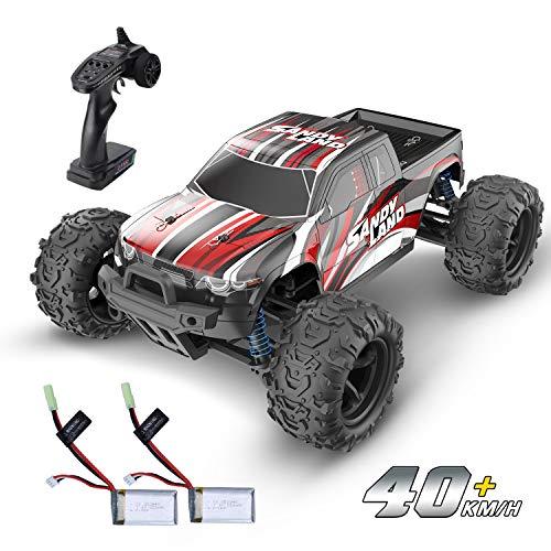 DEERC RC ferngesteuertes Auto für Kinder,40 km/h Hochgeschwindigkeits 1:18 Off-Road Auto 4WD 2,4GHz...