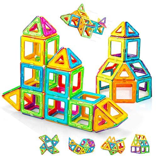 Condis Magnetische Bausteine 62 Teile Magnetspielzeug Magnete Kinder Magnetbausteine Magnet Spielzeug...